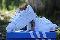 Мужские кроссовки ADIDAS SUPERSTAR, пресс кожа, белые / кроссовки мужские  АДИДАС СУПЕРСТАР,  стильные