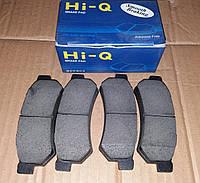 Колодки тормозные задние Лачетти нового образца Hi-Q