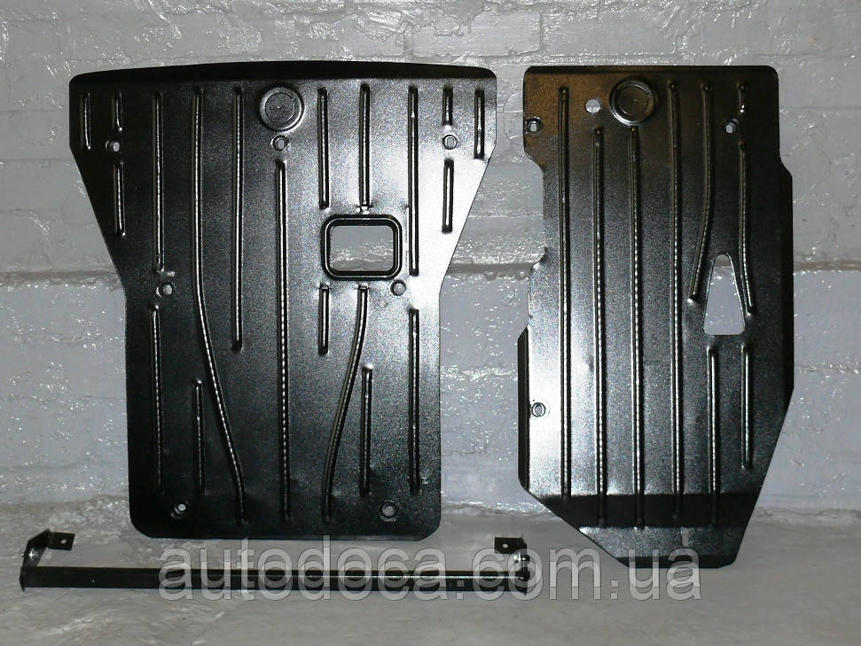 Защита картера двигателя, акпп BMW X1 (E84) 2009-