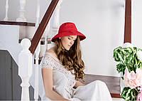 Льняная красная шляпа, фото 1