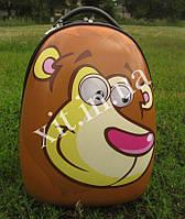 """Детский чемодан 16"""" на колесах Animals оранжевый"""