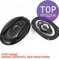 Колонки овалы 6х9 Sony XS-N6940 500w/аксессуары для авто