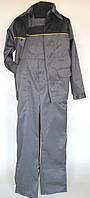 Костюм рабочий  «Стандарт» (п/к+куртка), темно-серый с чорным. Спецодежда.