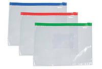 Папка на молнии DATUM A5 D1914 пластик