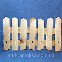 Декоративный забор с крючками