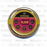 Пули для пневматики Winner 0,68 г, 4.5 мм, 300 шт/уп бронебойные