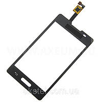 Сенсорный экран для LG E440 Optimus L4 II black Original
