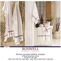 U.S. Polo Assn - Roswell белый с красным набор махровых полотенец 50*90 см,2 шт