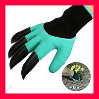Садовые перчатки Garden Genie Gloves, садовые перчатки с когтями
