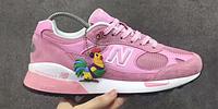 Женские кроссовки New Balance 991.5 Pink (Нью Баланс) розовые