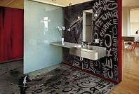 Декоративные наливные полы для ванной