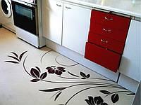 Декоративные наливные полы для кухни