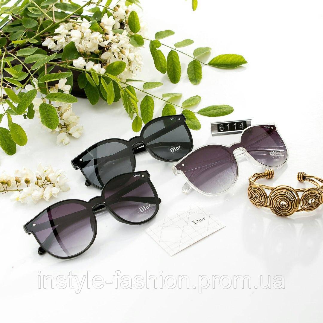 Женские стильные очки копия Диор выбор цветов
