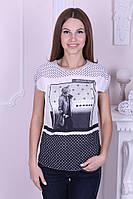 Стильная женская футболка котон