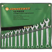 Набор ключей комбинированных 8-22мм, 12 предметов Jonnesway W26112S