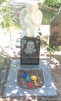 Памятник дитячий з ангелом