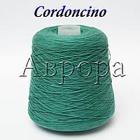 Cordoncino, нефритовый (100% хлопок,  550м/100г, ,)