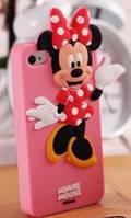 """Чехол силиконовый """"Minnie"""" для iPhone 5/5S"""