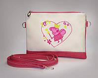 """Стильная сумочка для девочки """"Пеппа"""""""