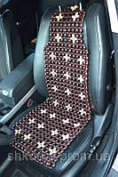 Деревянная накидка в авто НД 018, фото 1