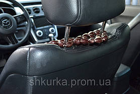 Деревянная накидка в авто НД 018, фото 3