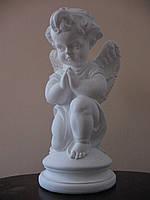 Статуя на могилу Ангел на колене бетон 50 см