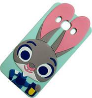 Силіконовий чохол Кролик Джудди для Samsung Galaxy J5 2016, фото 1