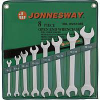 Набор ключей рожковых 6-22мм, 8 предметов Jonnesway W25108S