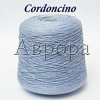 Cordoncino голубой (100% хлопок,  550м/100г, ,)