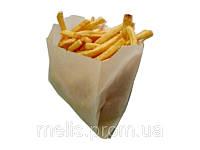 Пакеты под картошку фри жиростойкие 110х110х30 мм, фото 1