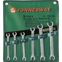 Набор ключей разрезных 8-19 мм, 6 предметов Jonnesway W24106S