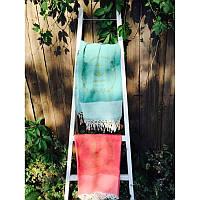 Полотенце пляжное Buldans - Anchor yesil зеленое 100*180