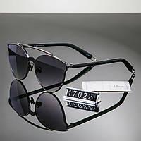 Женские брендовые стильные очки Dior Диор черные