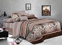 Двуспальный набор постельного белья Ранфорс №272