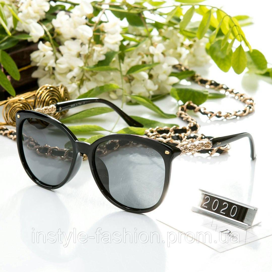 eec1e2f42104 Женские очки брендовый Polaroid Dior Диор черные - Сумки брендовые,  кошельки, очки, женская