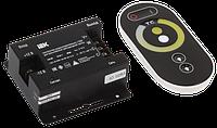 Контроллер с ПДУ радио (черный) MONO 1 канал 12В, 10А, 120Вт IEK-eco
