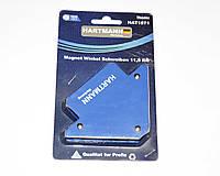 """Магнитный угольник для сварки 11,5кг. 82х102х13мм. """"Hartmann""""."""