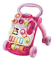 VTech ходунки - игровой центр Sit-to-Stand Learning Walker - Pink