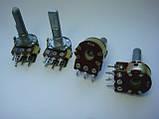 Потенциометр RK16  104b  (100kb) 25mm для пультов, фото 2