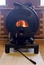 Канадская печь VANCOUVER Буллер тип 01 дверка со стеклом, фото 3