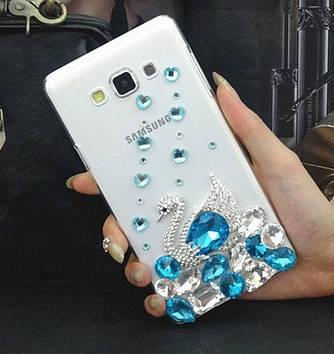 """SAMSUNG S6 EDGE G925 оригинальный чехол панель бампер накладка со стразами камнями """"ROYAL DIMOND"""""""
