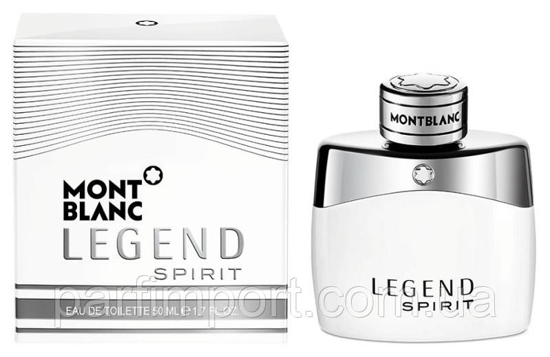 MONT BLANC LEGEND SPIRIT EDT 50 ml туалетная вода мужская (оригинал подлинник  Франция)