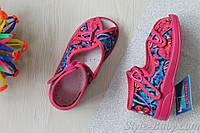 Текстильные сандалии на девочку Zetpol Зетпол текстильная обувь р.20,27