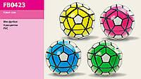 Мяч футбол FB0423 30шт  4 цвета PVC 320 грамм