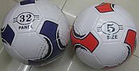 Мяч футбол M1734 30шт 310 грамм, PVC, 2 цвета