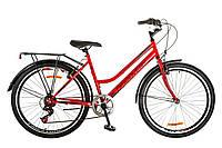 """Велосипед 26"""" DISCOVERY PRESTIGE WOMAN 2017 (красно-черный)"""