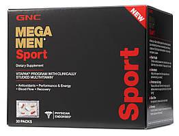GNC Mega Men Sport Vitapak Multivitamin Blend 30 packs