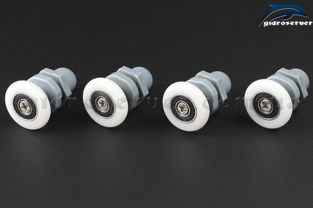 Ролики для душевой кабины, гидромассажного бокса B-27A эксцентрики с диаметрами колес от 19 до 27 мм.