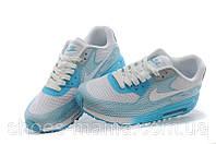 Женские кроссовки Nike Air Max 90 Lunar grey-blue