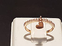 Золотое кольцо с фианитами. Артикул КВ933.3И, фото 1